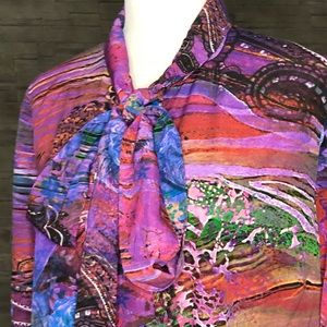 Mario Serrani multicolour blouse